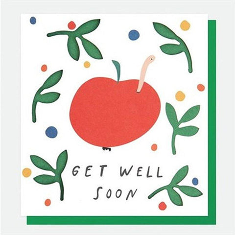 Apples Get Well Card