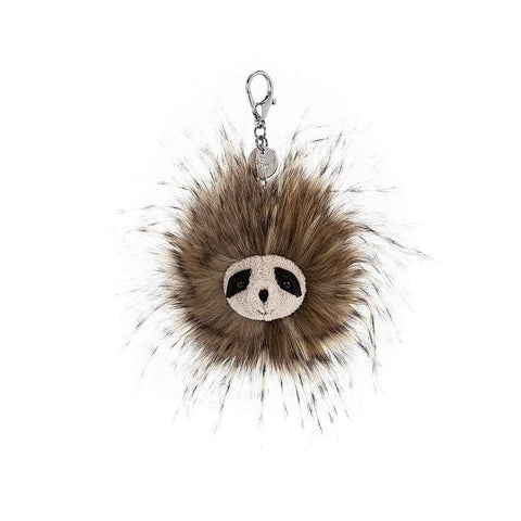 Cyril The Sloth Bag Charm insideout-home.myshopify.com