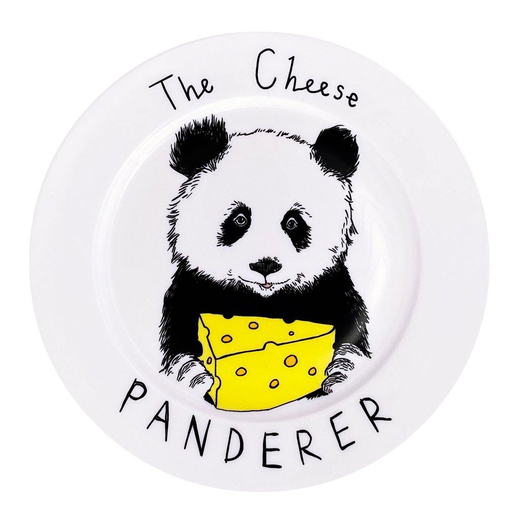 The Cheese Panderer Side Plate, Food Service by Insideout