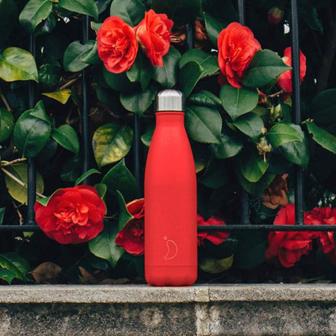 Chilly's Bottle Neon Red 500ml - insideout-home