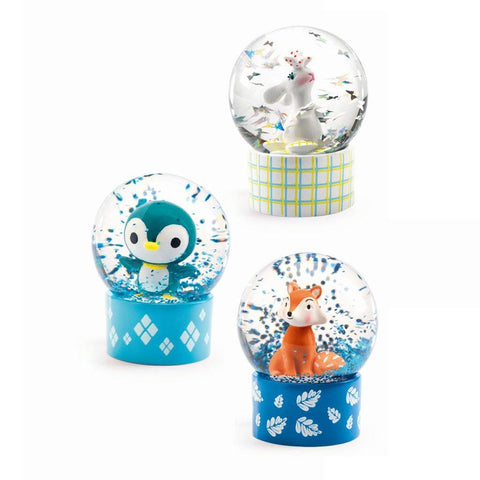 So Wild Mini Snow Globes - insideout-home