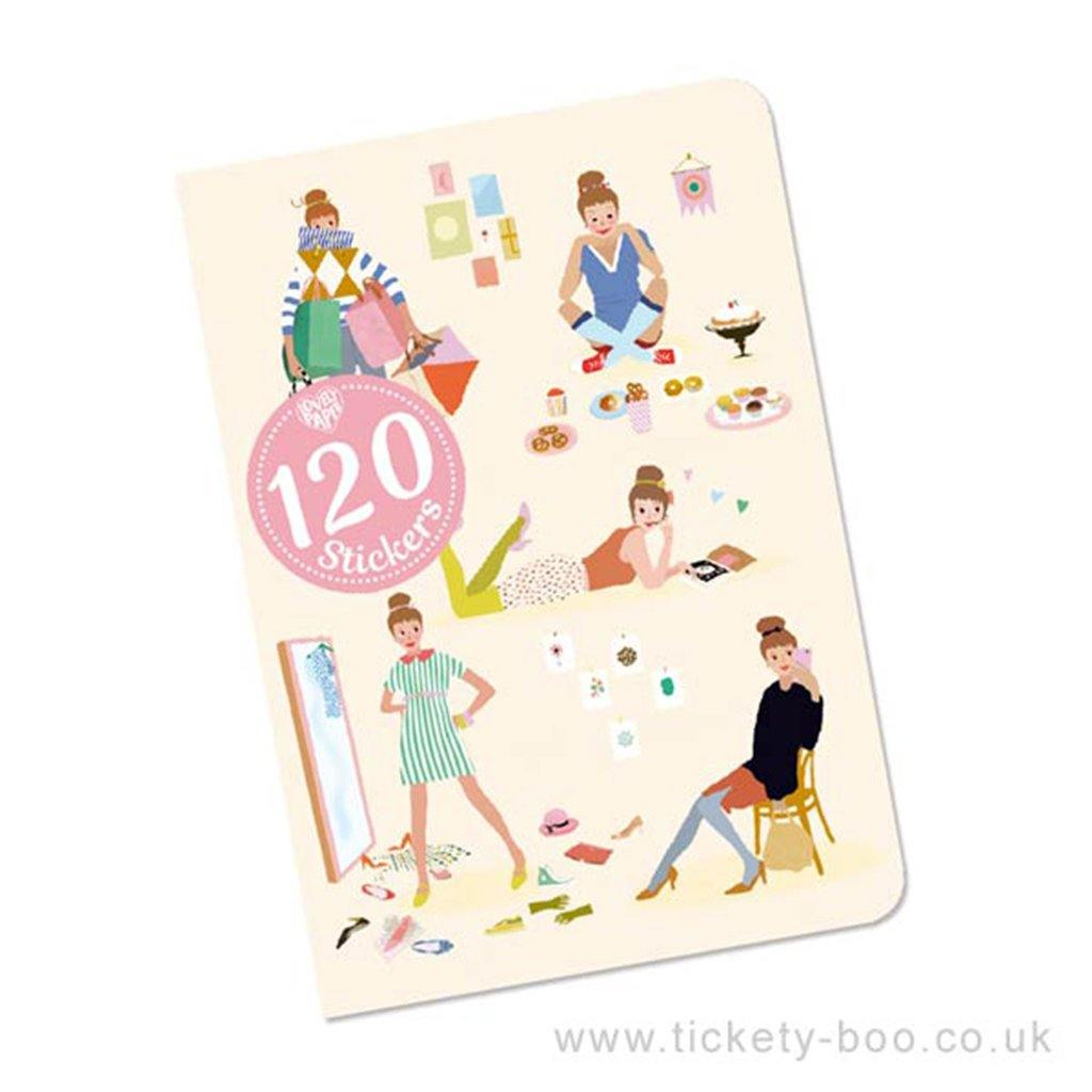 Notebook Stickers Tinou, Art & Crafting Materials by Insideout