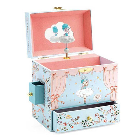 Ballerina On Stage Music Box - insideout-home
