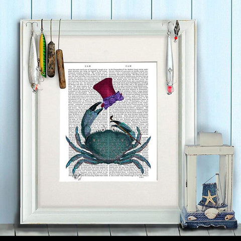 Dandy Crab Print - insideout-home