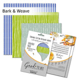 Organic Beeswax Reusable Food Wrap Pack Bark And Weave - insideout-home