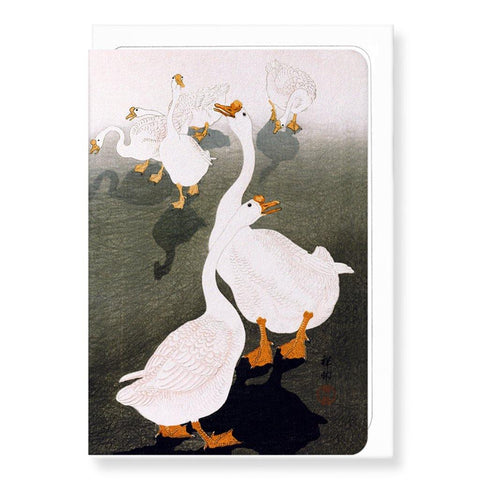 Geese By Koson Card - insideout-home