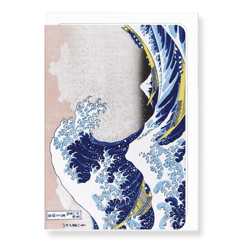 Great Wave By Hokusai Card - insideout-home
