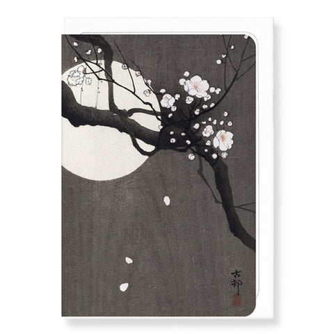 Plum Blossom And Full Moon - insideout-home