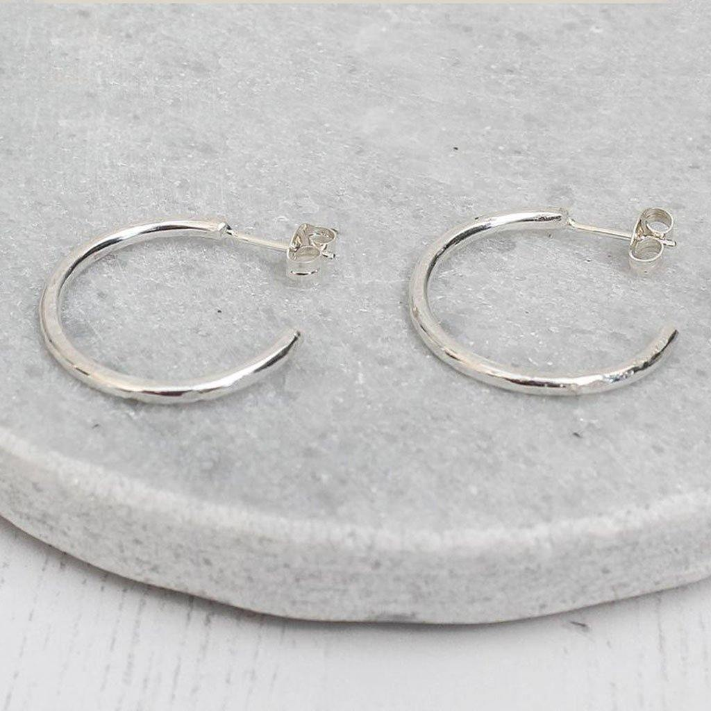 Sterling Silver Everyday Hoops by  Insideout