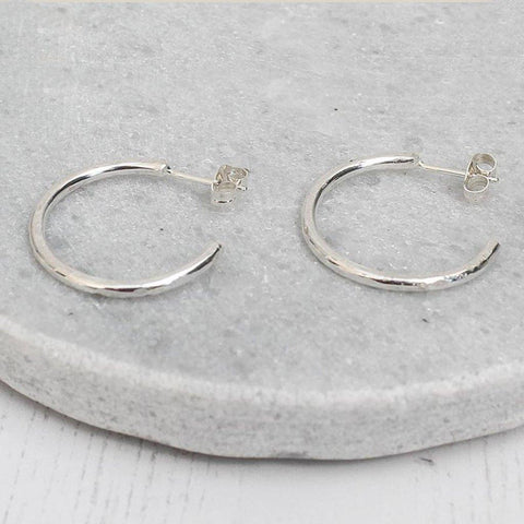 Sterling Silver Everyday Hoops - insideout-home