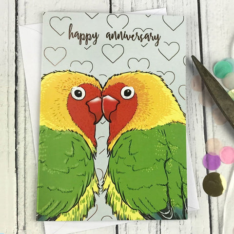 FA136 Happy anniversary card - insideout-home