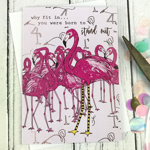 FA13 Why fit in... you were born to stand out card - insideout-home