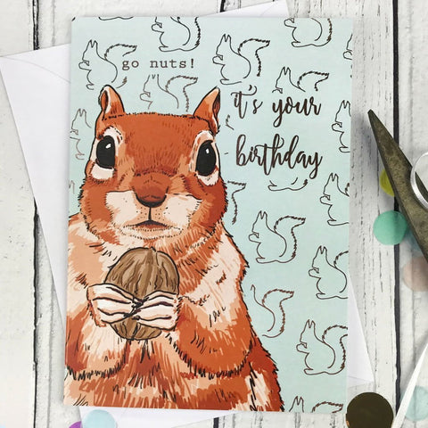 Go Nuts! It's your birthday card