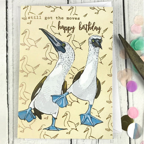 FA26 Still got the moves happy birthday card - insideout-home