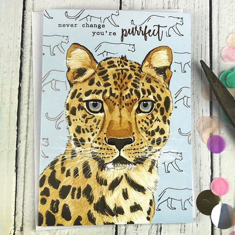 FA27 Never change you're purrfect card - insideout-home