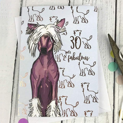 30 and fabulous card