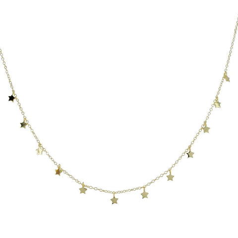 Gold Vermeil Starry Pendant Necklace - insideout-home