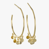 Shaker Gold Vermeil Hoop Earrings - insideout-home