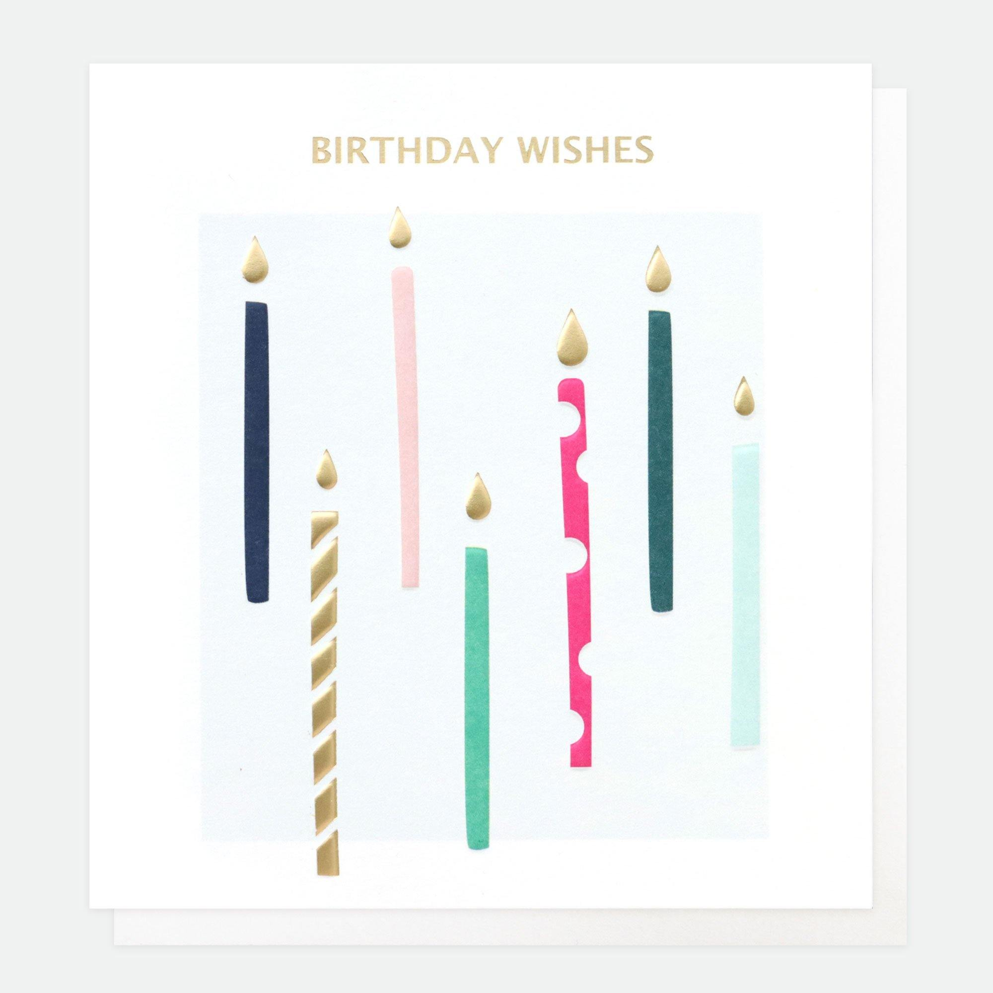 Birthday Wishes Candles, Birthday Candles by Insideout