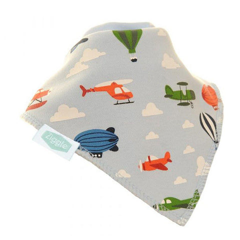 Airplanes Dribble Bib