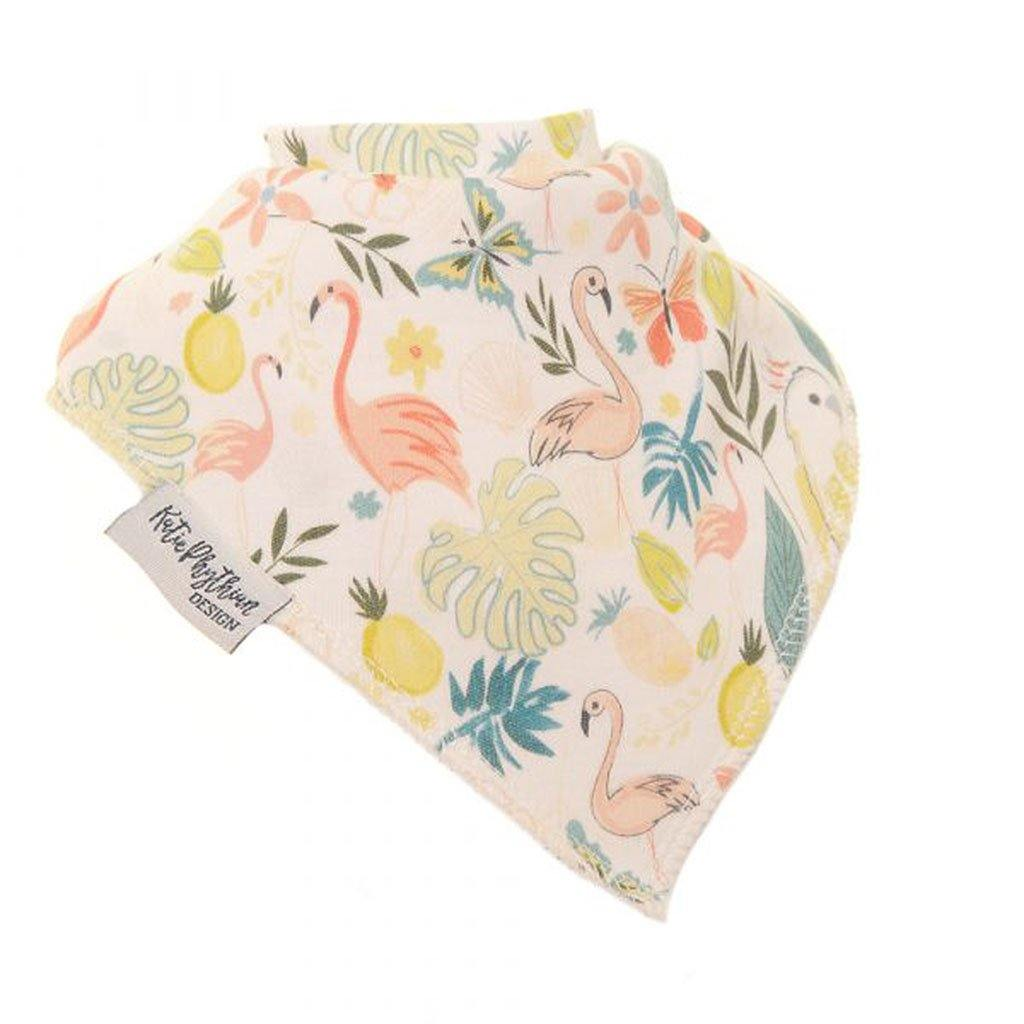 Tropical By Katie Phythian Dribble Bib, Baby & Toddler by Insideout