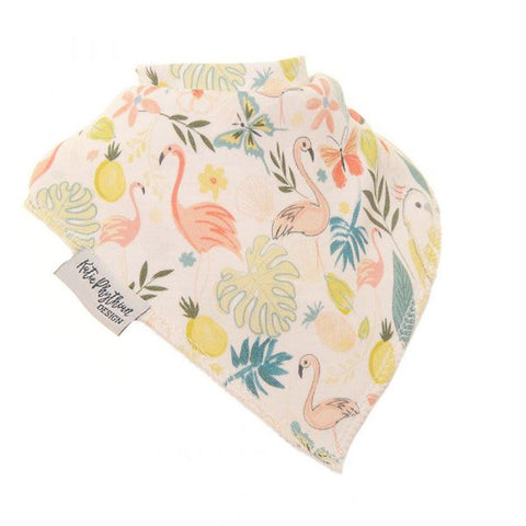 Tropical By Katie Phythian Dribble Bib - insideout-home