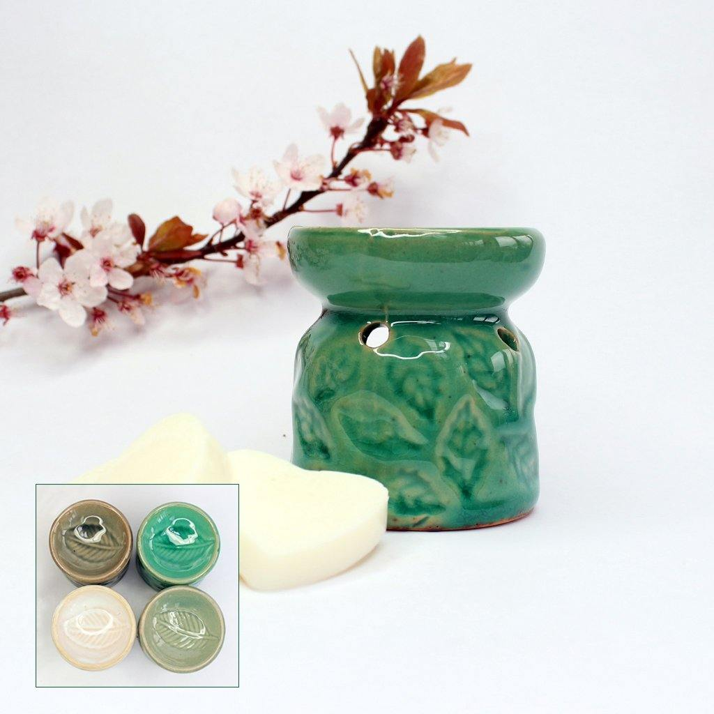 Eco Soya Wax Melts Small Burner Sets - Available In 4 Colours, Raw Candle Wax by Insideout