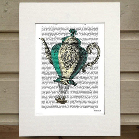 Flying Teapot Print - insideout-home