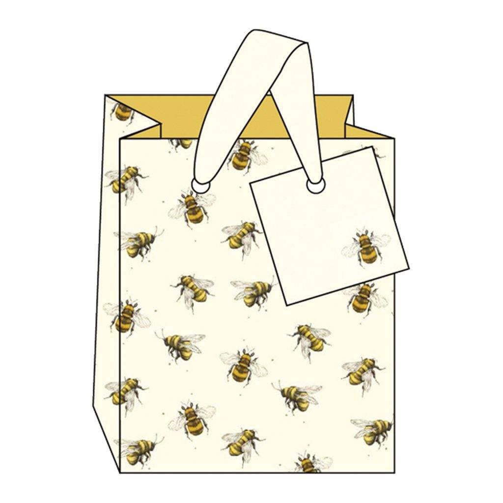Bee Gift Bag Small, Gift Wrapping by Insideout