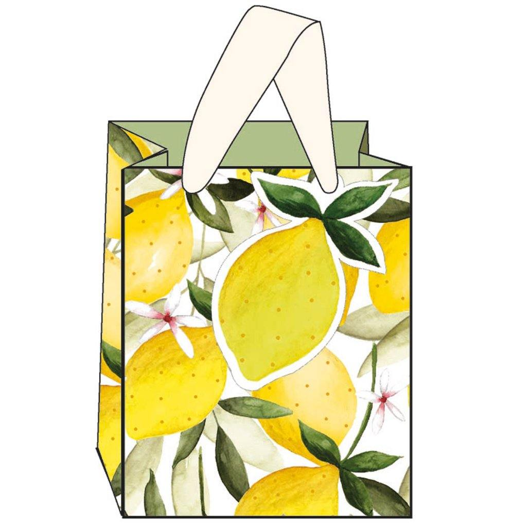 Lemons Gift Bag Small, Gift Wrapping by Insideout
