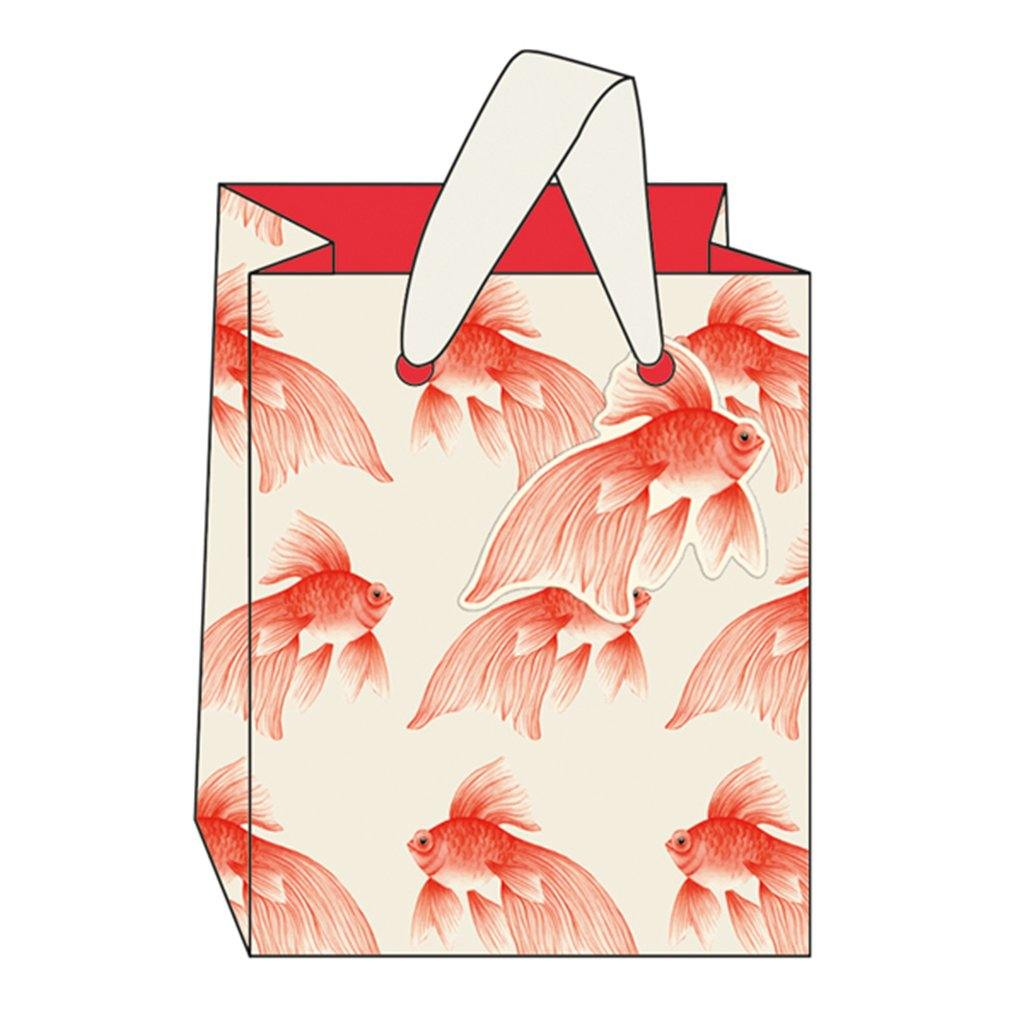 Goldfish Gift Bag Small, Gift Wrapping by Insideout