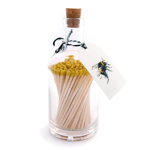 Bee Matchsticks In A Jar - insideout-home