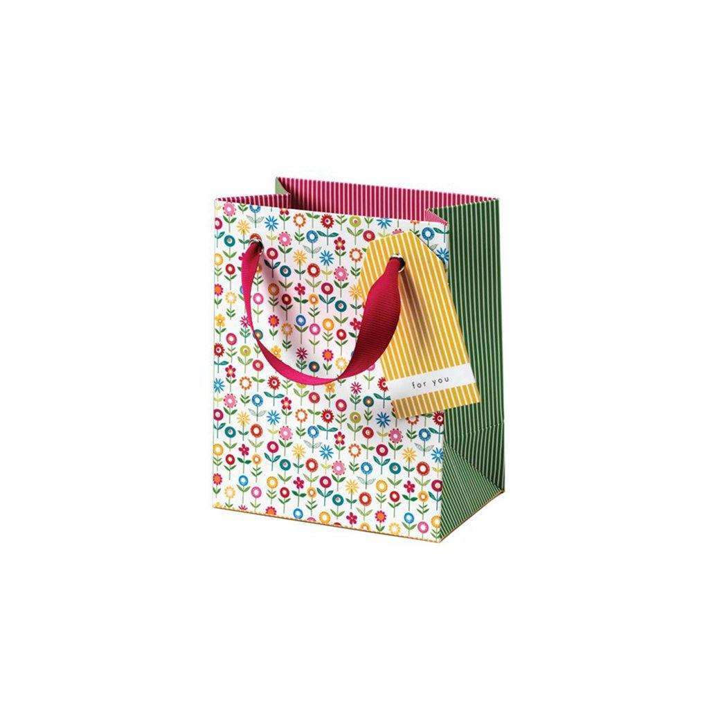 Cherry Blossom Flower Garden Gift Bag Small, Gift Bags by Insideout