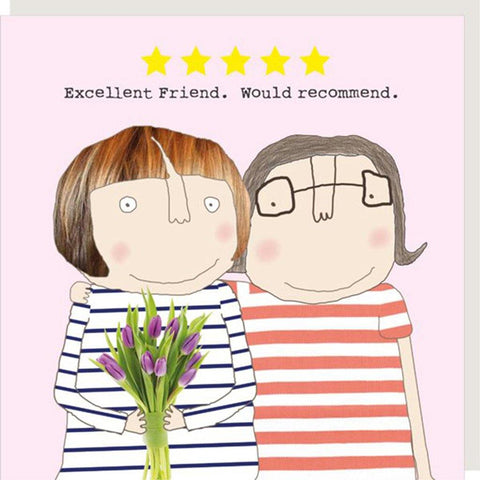 Excellent Friend Card - insideout-home