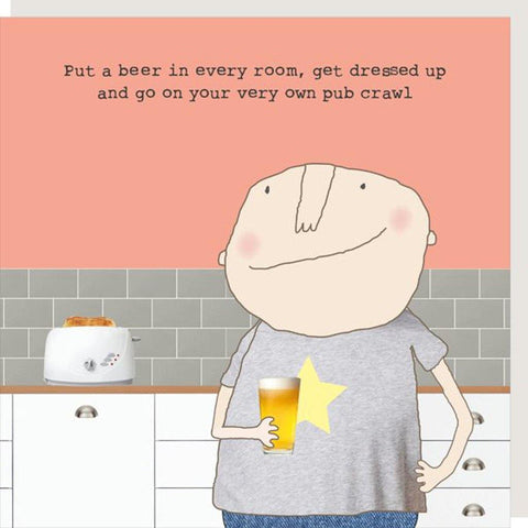 Pub Crawl Boy Card - insideout-home