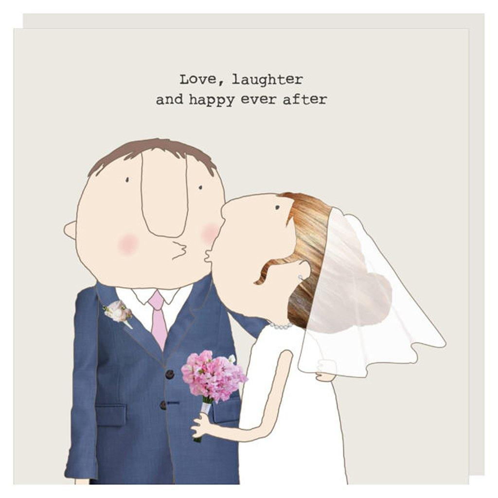 Love Laughter Wedding Card by  Insideout