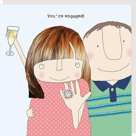 You're Engaged Card - insideout-home