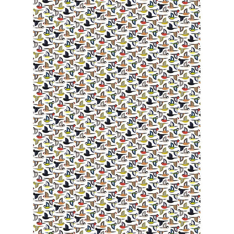 Multiple Birds Gift Wrap - insideout-home