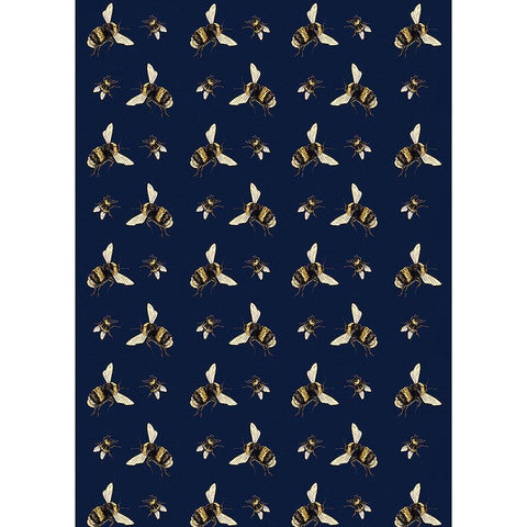 Large Bees Gift Wrap - insideout-home