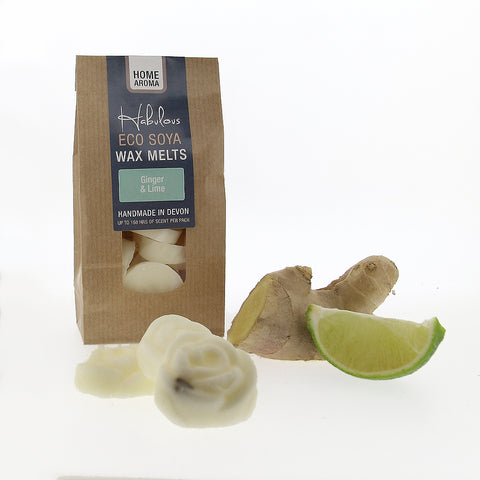 Ginger & Lime Eco Soya Wax Melts Pack - insideout-home