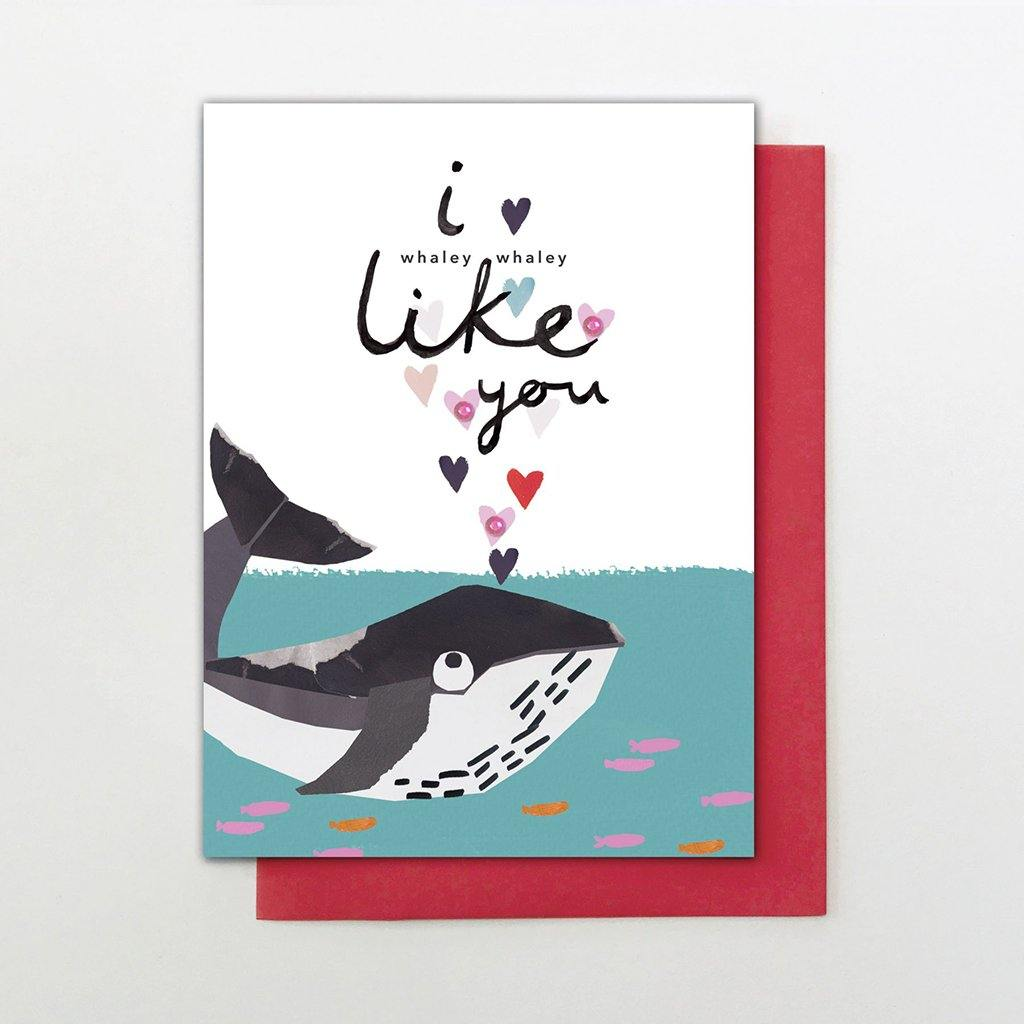 Whaley Like You Card by  Insideout