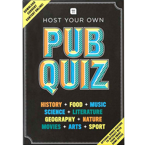 Host Your Own Pub Quiz Game - insideout-home