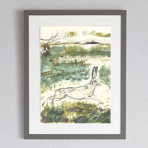 Heathland Framed Print - insideout-home