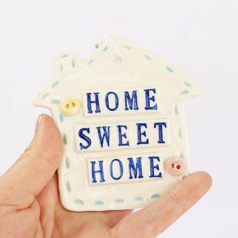 Porcelain House Hanging Home Sweet Home - insideout-home