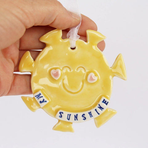 Porcelain Sunshine Hanging - insideout-home