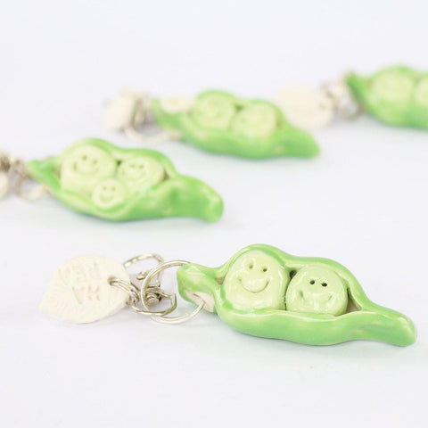Peas In A Pod Keyring - insideout-home