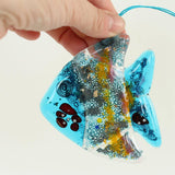 Fish Fused Glass Hanging - insideout-home