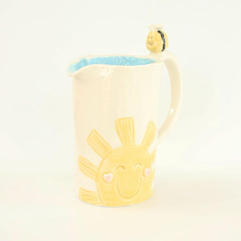 Sunshine And Button Handmade Porcelain Jug - insideout-home