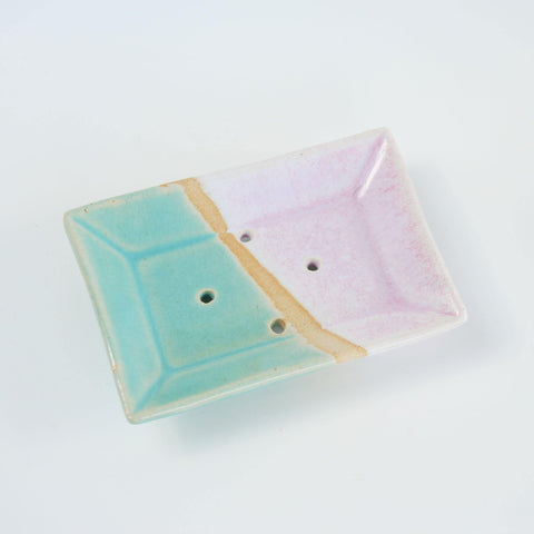Stoneware Soap Dish Handmade - insideout-home