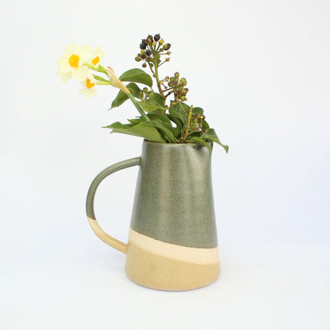 Toasted Marshmallow Handmade Stoneware 500ml Jug